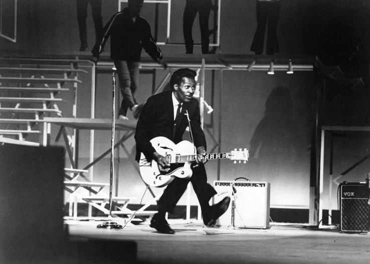 Chuck Berry, the king of rock'n'roll