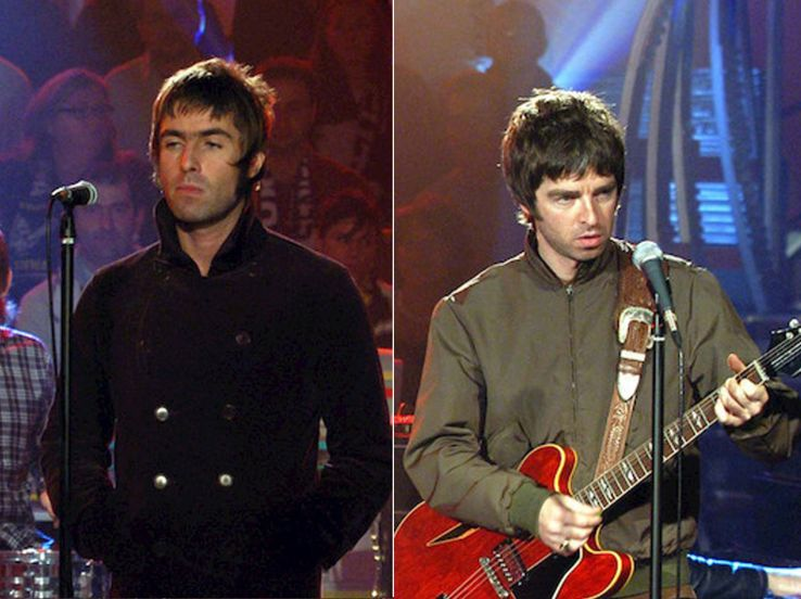 Liam e Noel Gallagher, i fratelli coltelli del pop-rock britannico