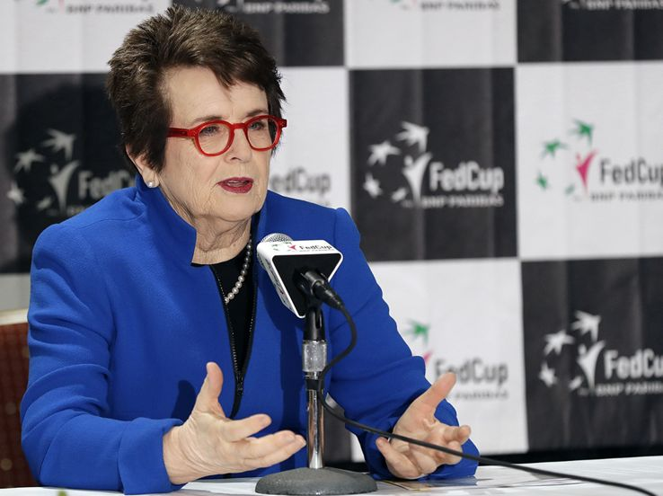 "Billie Jean King e la ""battaglia dei sessi"""