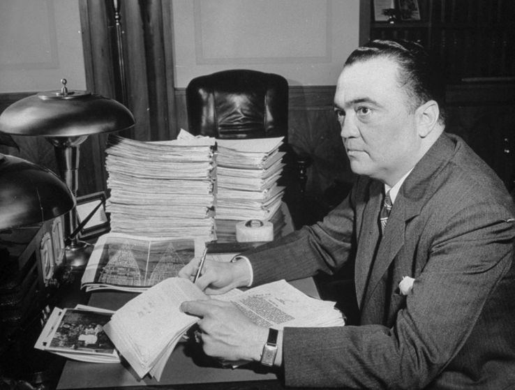 John Edgard Hoover: potente capo dell'FBI