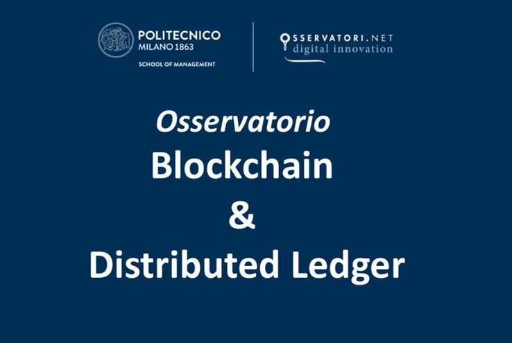 Osservatorio Blockchain & Distributed Ledger