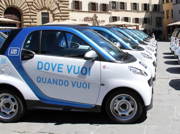 Il fenomeno del car sharing