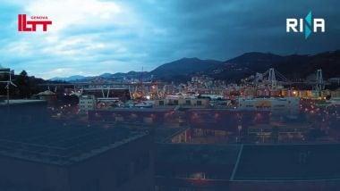 Ponte di Genova, 15 mesi dei lavori in timelapse thumbnail
