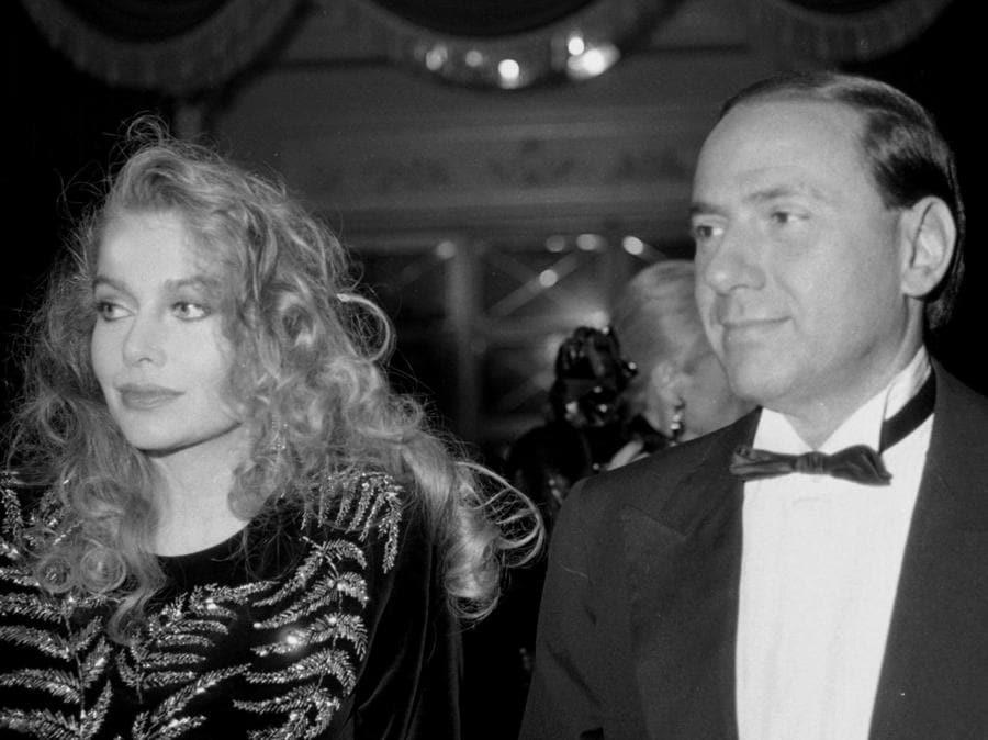 8 dicembre 1986 -  al teatro La Scala per la prima del Nabucco (ANSA ARCHIVIO)