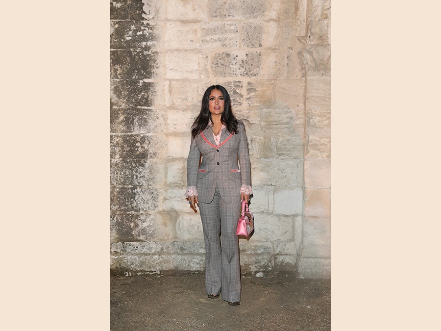 Salma Hayek Pinault. (Photo by Vittorio Zunino Celotto/Getty Images for Gucci )