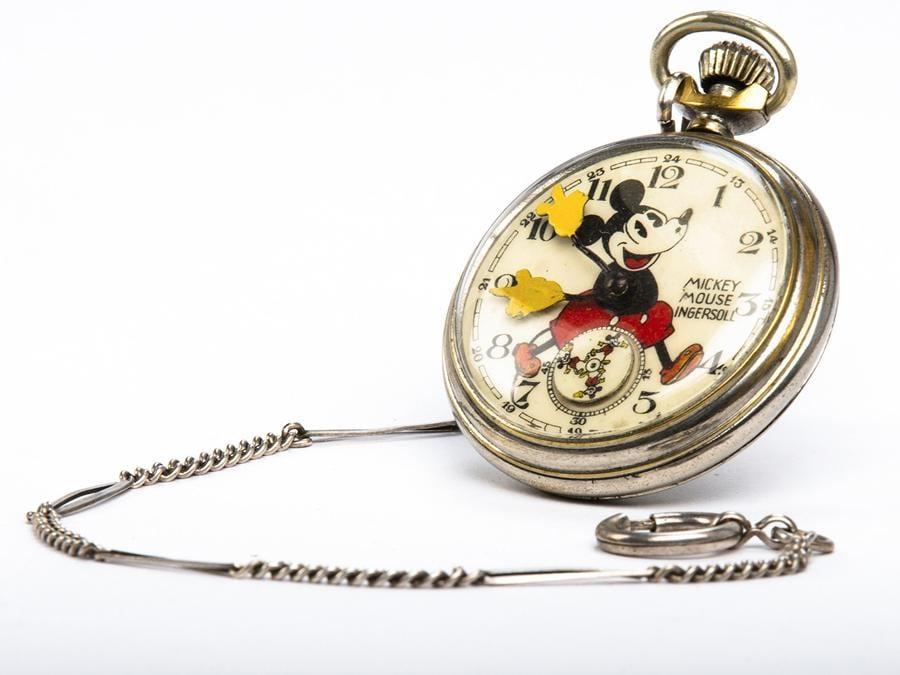 Rarissimo orologio da tasca del 1933 esposto in mostra
