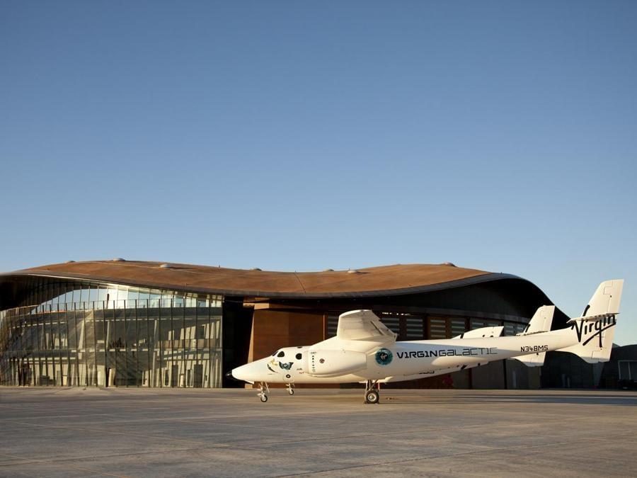 L'Hangar della Virgin Galactic