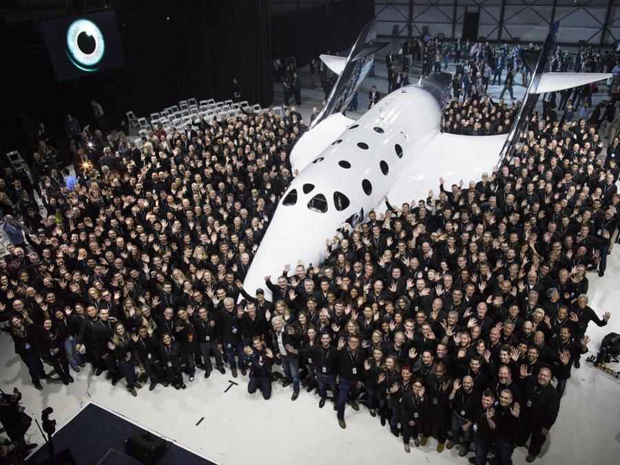 Virgin Galactic e la Spaceship Company team