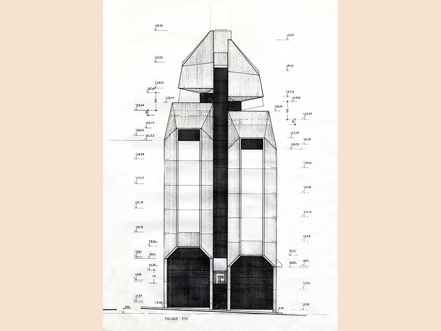 Khalil Khouri_Architecture_Interdesign_Elevation