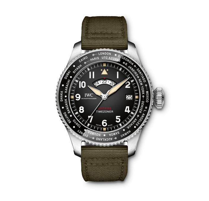 Pilot's Watch Timezoner Spitfire Edition The Longest Flight
