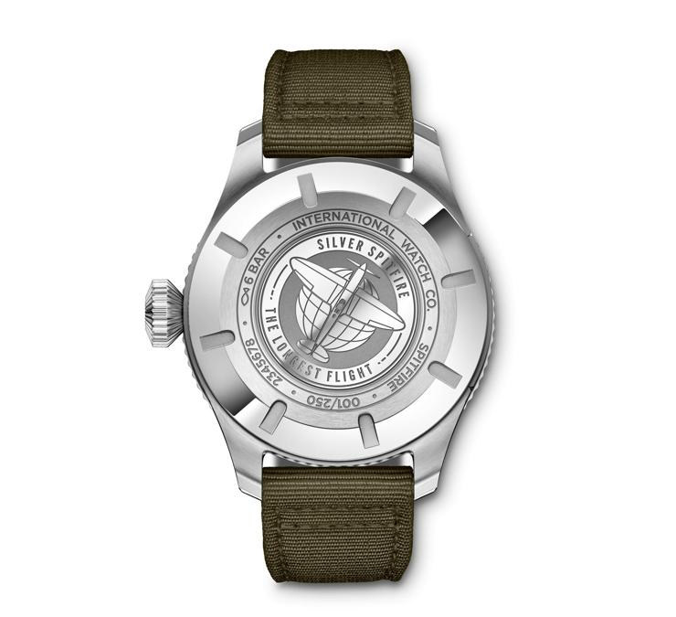 Pilot's Watch Timezoner Spitfire Edition The Longest Flight back
