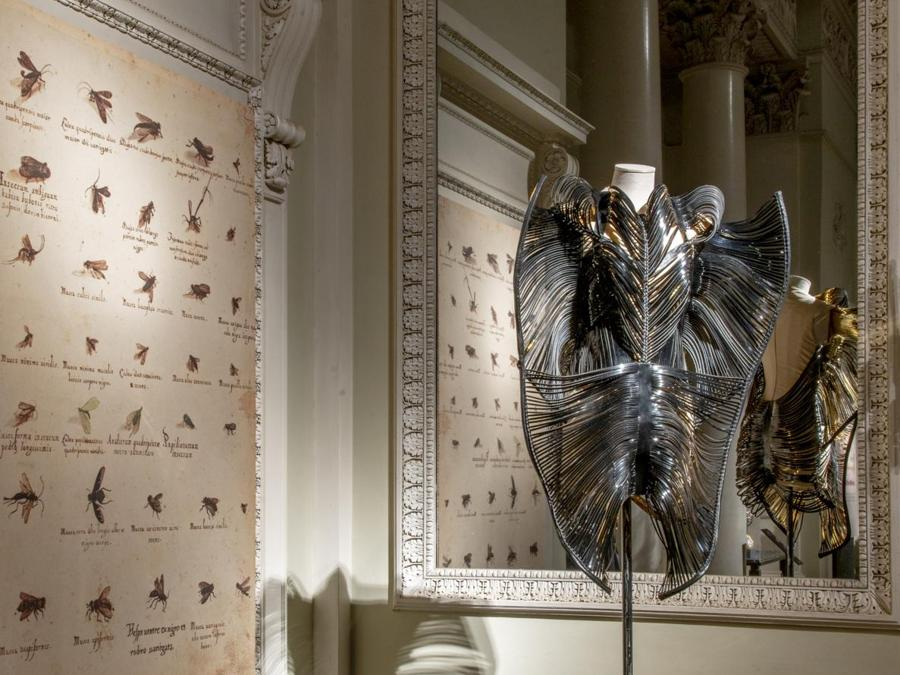 Iris van Herpen, abito Capriole Collection, Fall/Winter 2011-12. (© Antonio Quattrone)