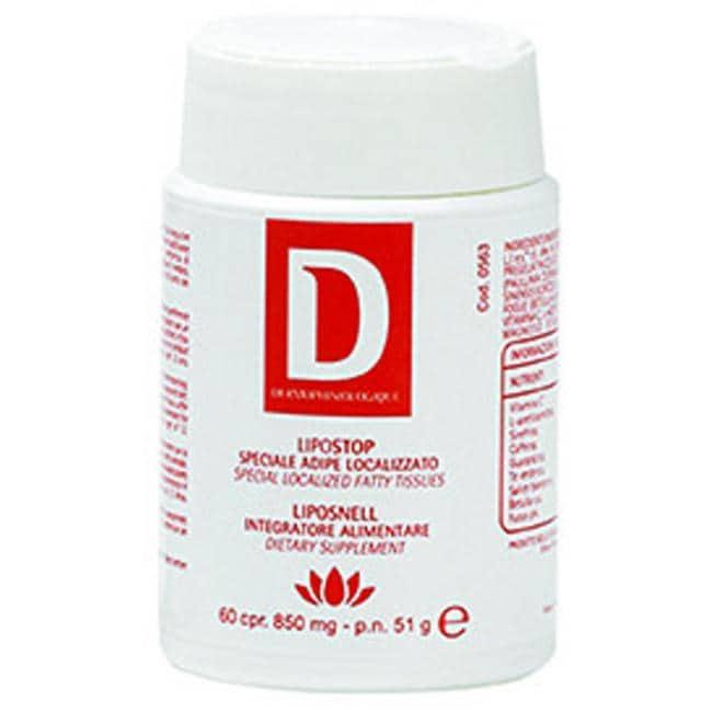 Lipostop - Liposnell di Dermophisiologique, a base di estratti vegetali e nutrienti utili per il metabolismo, indicato per coadiuvare le diete finalizzate alla perdita di peso