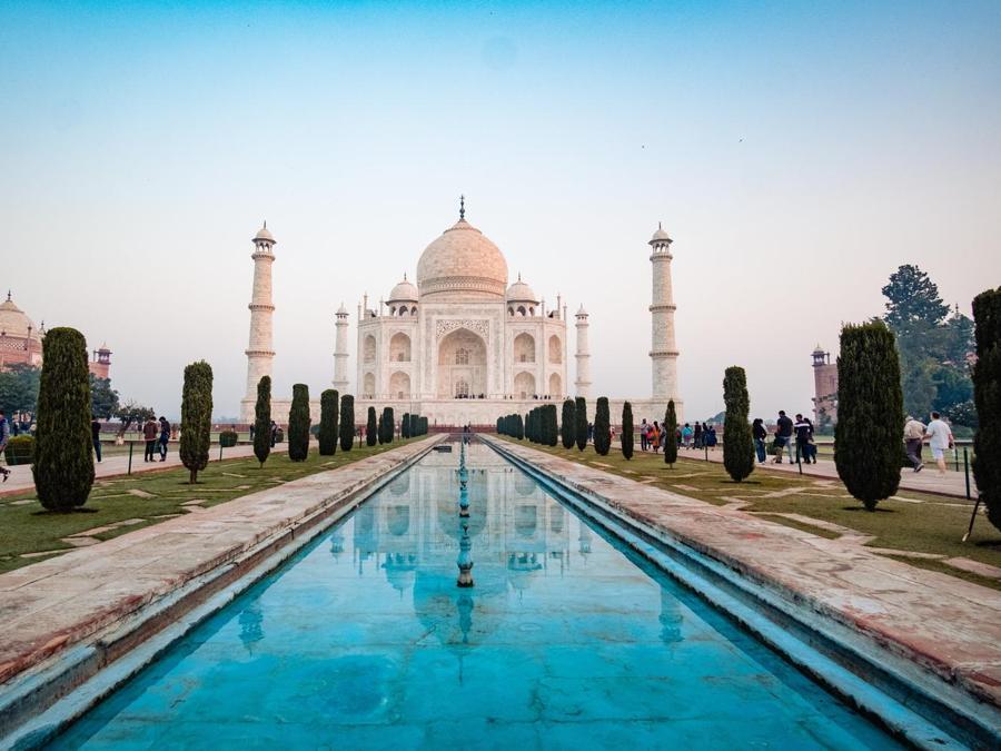 Davide Dusnasco. India Taj Mahal