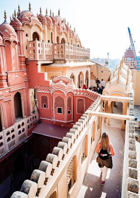 India, Hawa Mahal