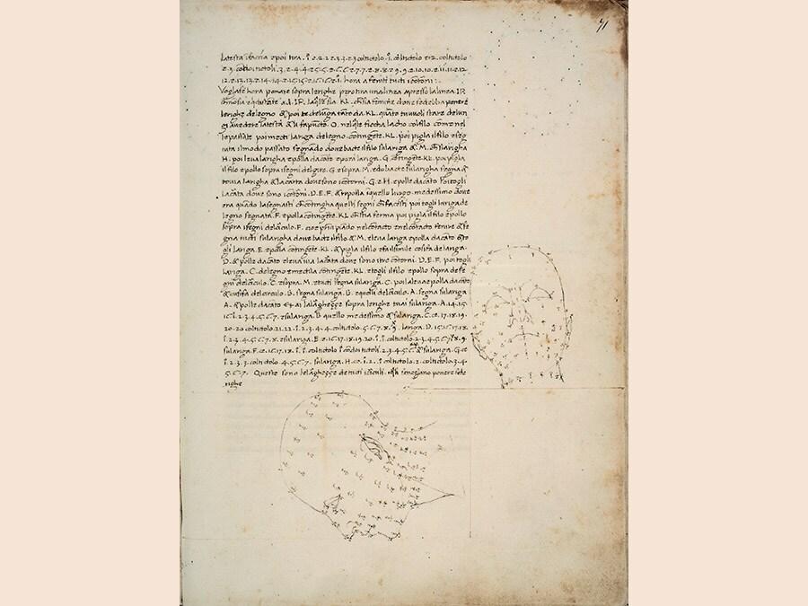 Piero della Francesca. De Prospectiva Pingendi, seconda metà del XV secolo, codice cartaceo, 290x215. Parma, Complesso Monumentale della Pilotta, Biblioteca Palatina