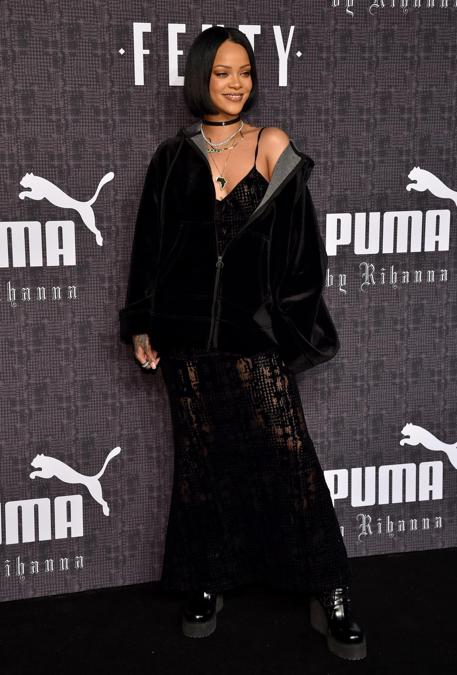 Fenty Puma by Rihanna  2016. (Dimitrios Kambouris/Getty Images for FENTY PUMA/AFP)