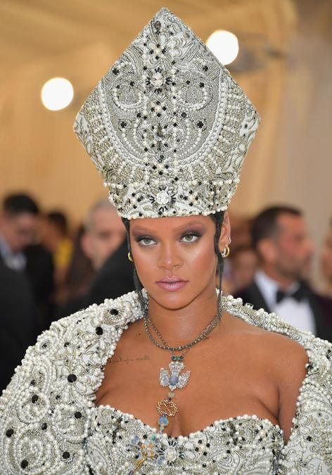 Rihanna al Met Ball  2018. (Neilson Barnard/Getty Images/AFP)