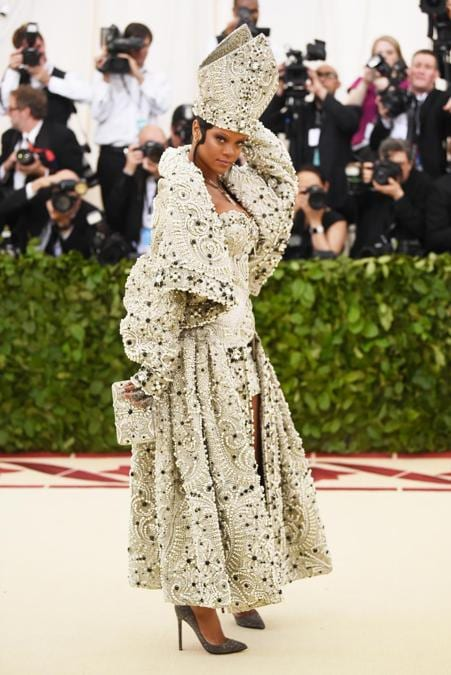 Rihanna al Met Ball  2018. (Jamie McCarthy/Getty Images/AFP)