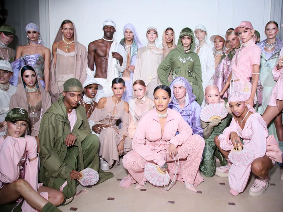 Fenty Collection primavera-estate 2017