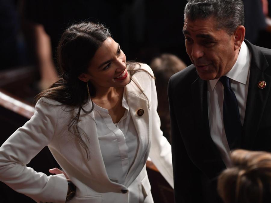 Alexandria Ocasio-Cortez. (SAUL LOEB / AFP)