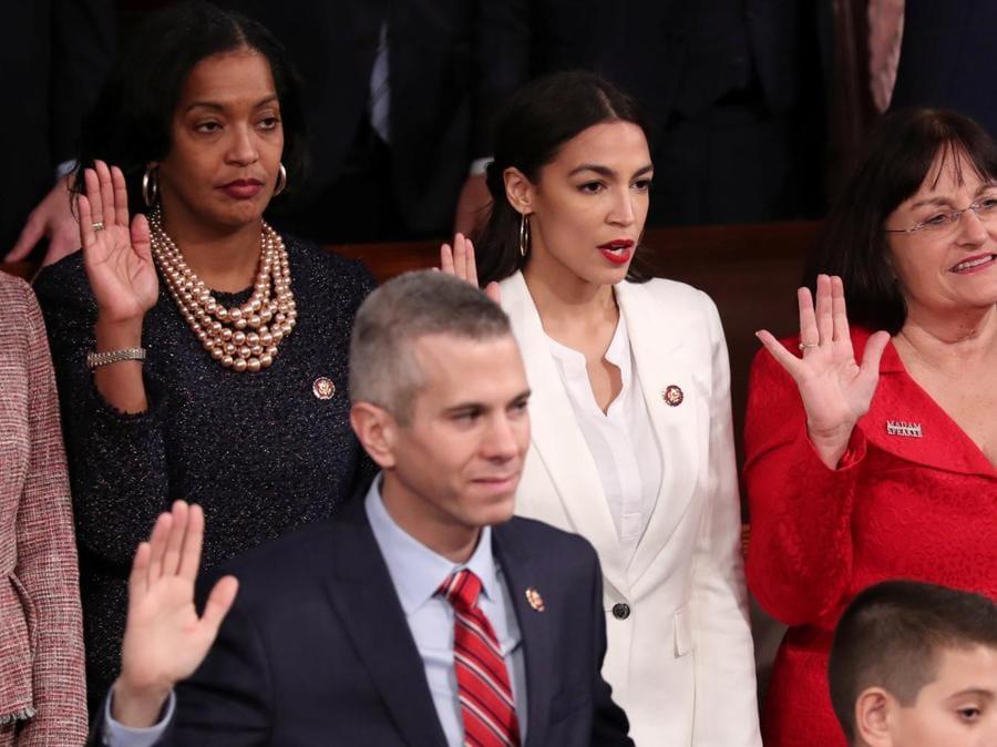 Alexandria Ocasio-Cortez. (REUTERS/Jonathan Ernst)