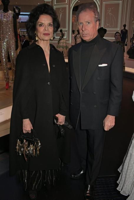 Bianca Jagger e David Armstrong-Jones Conte di  Snowdon (Pic Credit: Dave Benett)