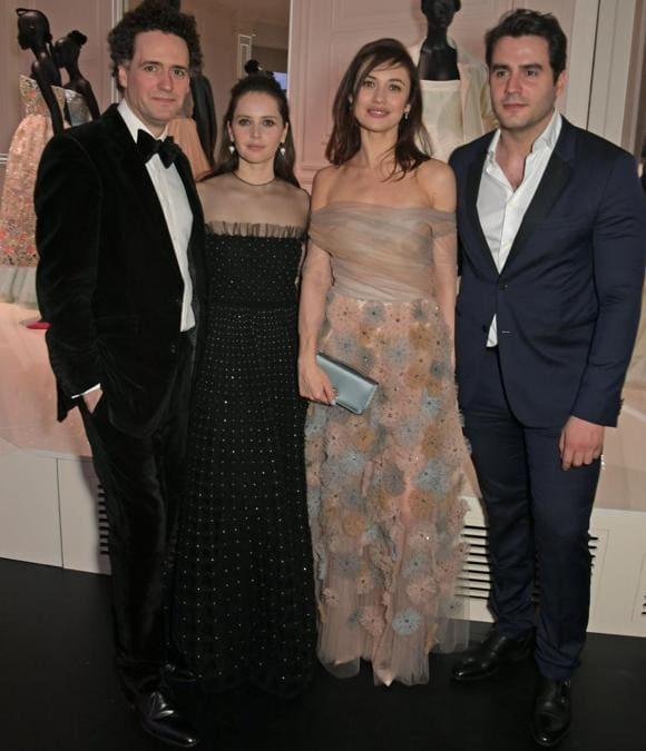 Charles Guard, Felicity Jones, Olga Kurylenko e Ben Cura (Pic Credit: Dave Benett)