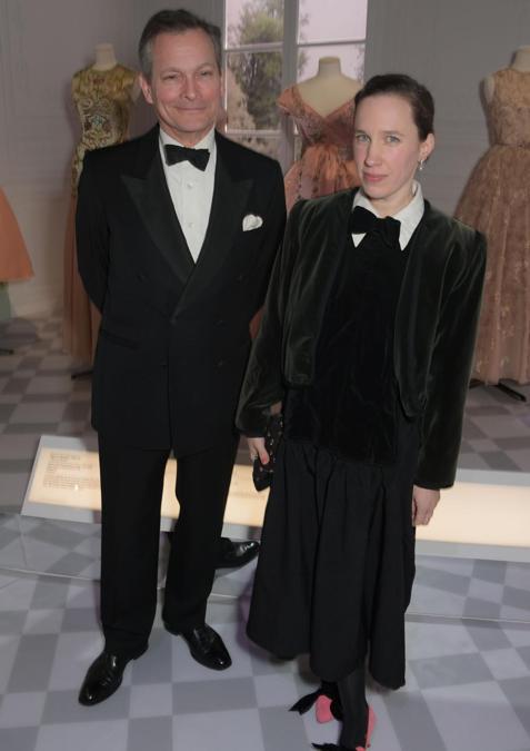 Daniel Chatto e Lady Frances von Hofmannsthal (Pic Credit: Dave Benett)