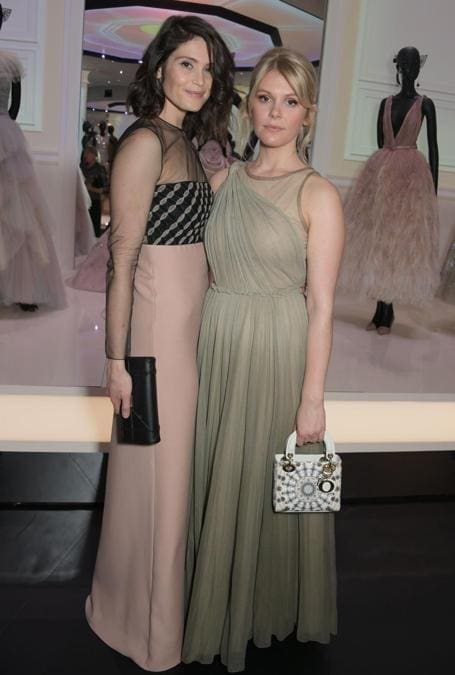 Gemma Arterton e Hannah Arterton (Pic Credit: Dave Benett)