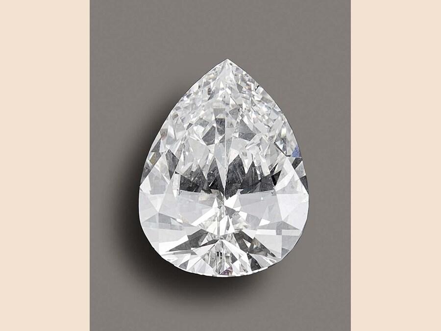 Diamante TAGLIO A GOCCIA, SCIOLTO, lotto 87 - aggiudicato a 106.250 euro
