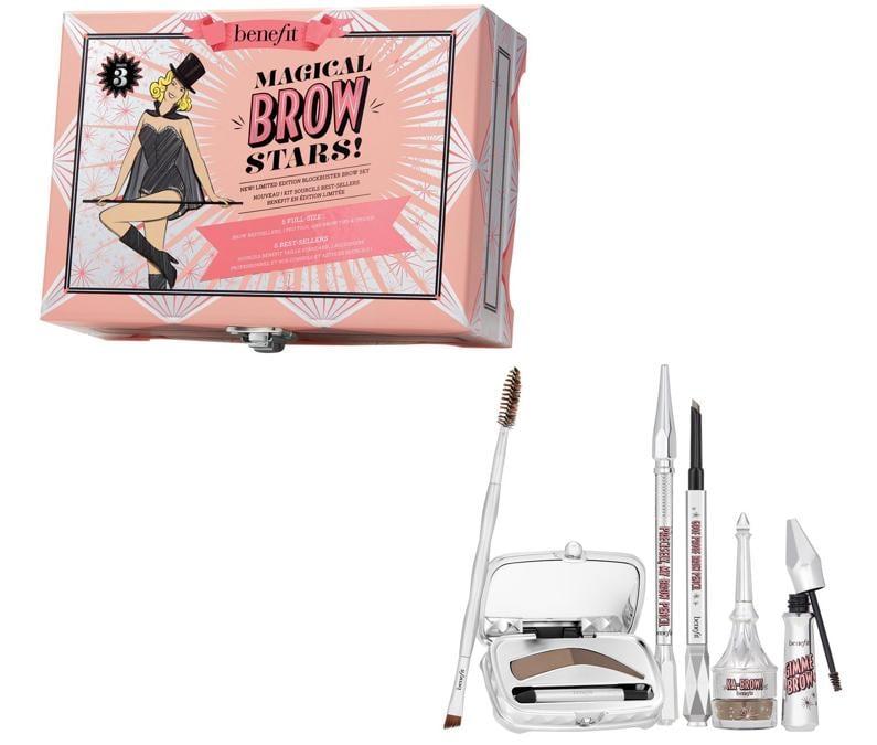 Magical Brow Star di Benefit Cosmetics, un kit favololso che contiene i 5 prodotti sopracciglia che risolveranno istantaneamente tutti i vostri problemi. Il kit è disponibile in due tonalità
