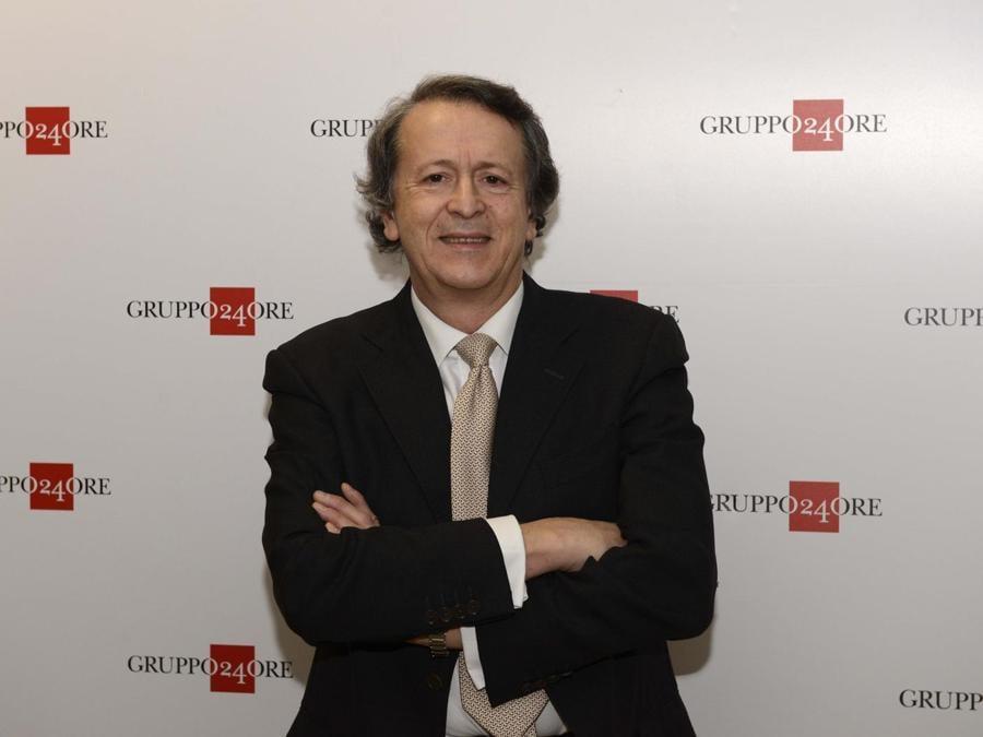 Il Direttore del Sole 24 Ore, Fabio Tamburini - foto IPP/Di Mauro