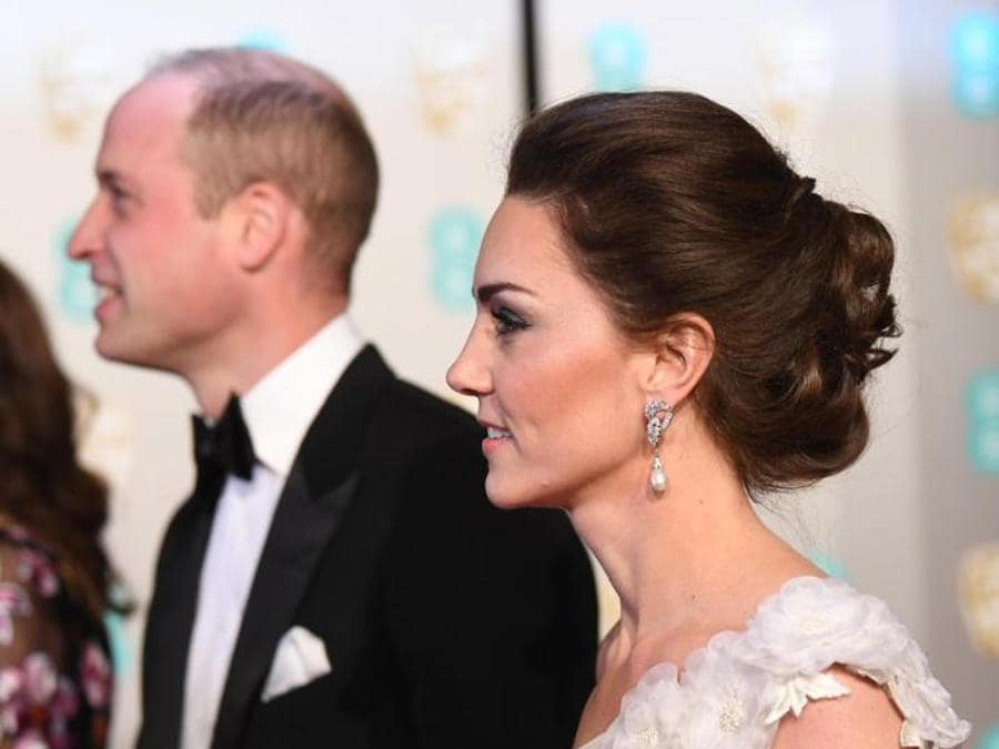 William e Catherine, duchi di Cambridge, ai Bafta