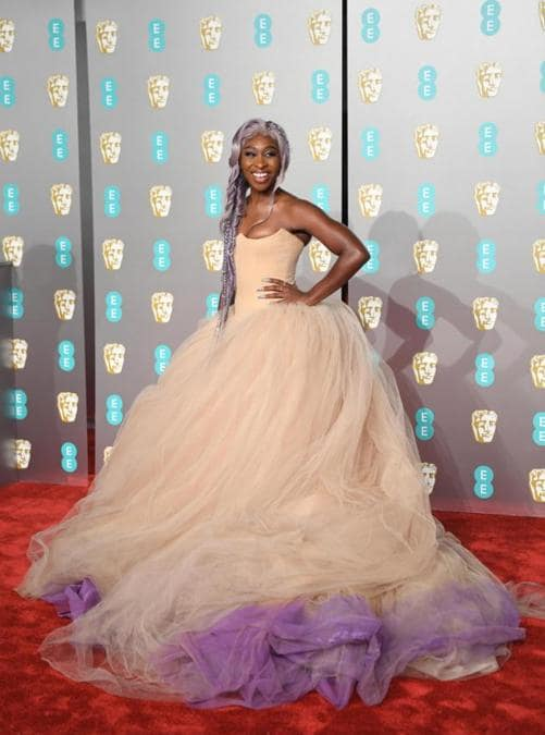 Cynthia Erivo in Vera Wang Collection