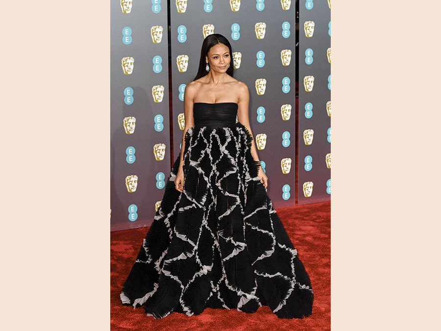 Thandie Newton in Valentino