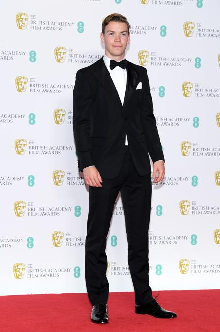 Will Poulter in Prada