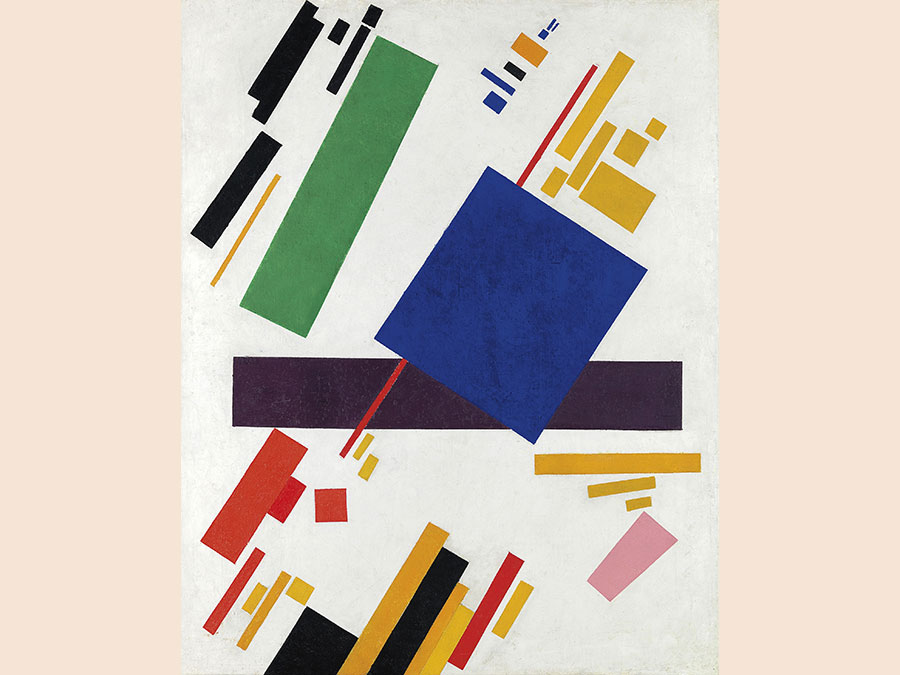 15 May 2018. Impressionist and Modern Art Evening Sale. New York. Kazimir Malevich. Suprematist Composition, oil on canvas, painted in 1916. Price realised: $85,812,500 / £63,423,873. WORLD AUCTION RECORD FOR THE ARTIST