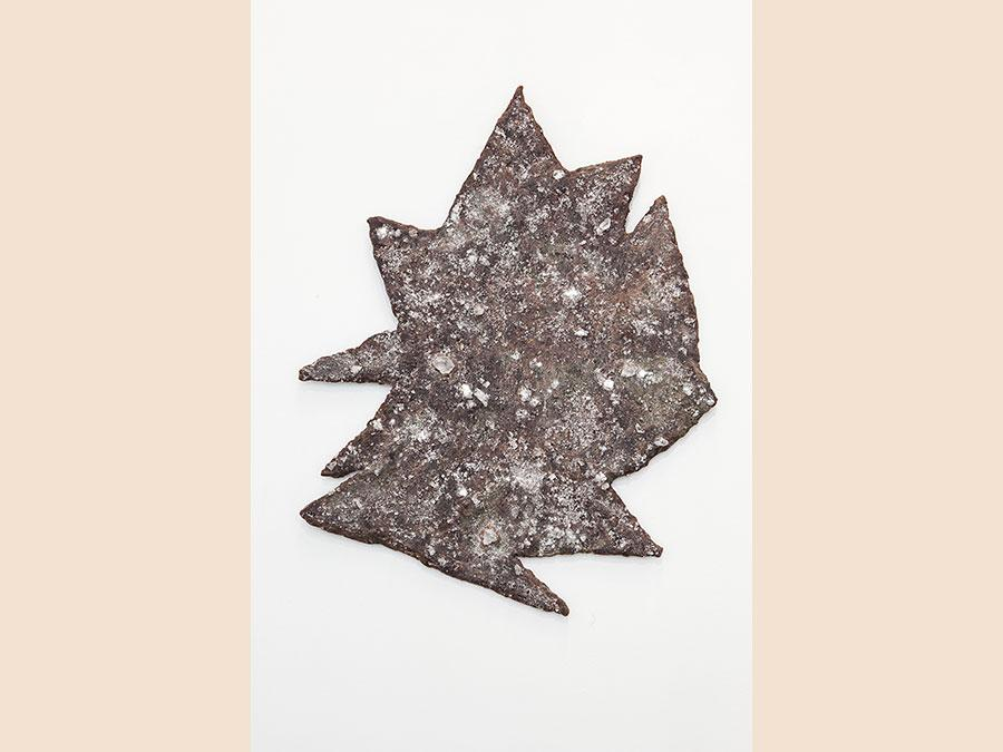 JAY HEIKES - Quintessence, 2014 - steel, wax and aluminium, sulphate -65 x 50 x 2 cm - Courtesy of the Artist and Federica Schiavo Gallery - Ph. Andrea Rossetti - Prezzo: € 9.000 + iVA