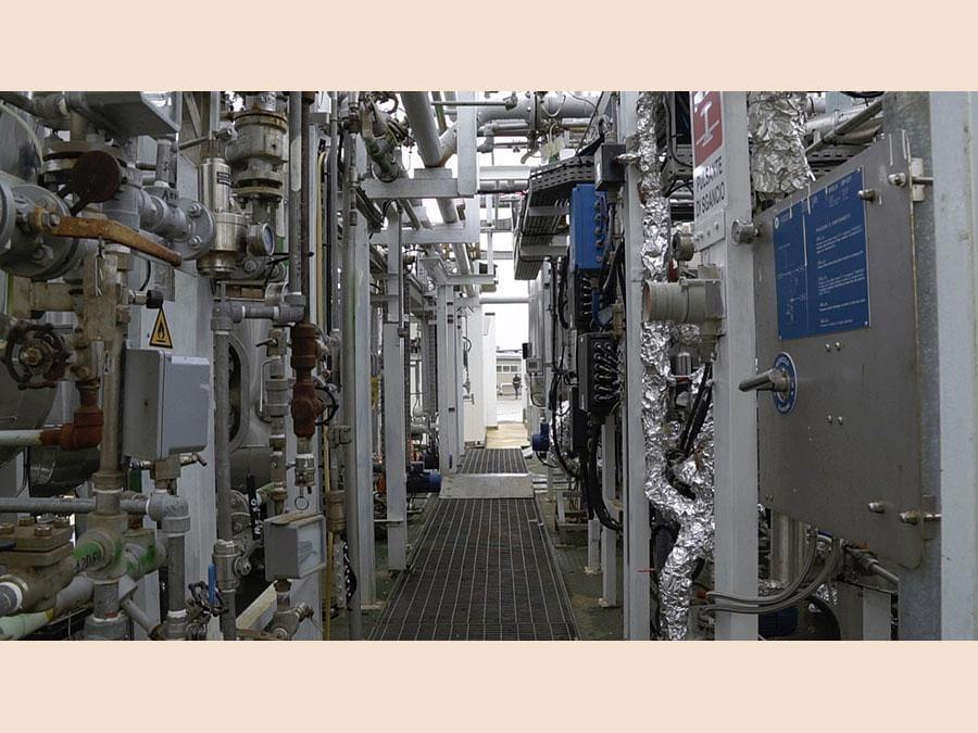 Uno scorcio dell'impianto
