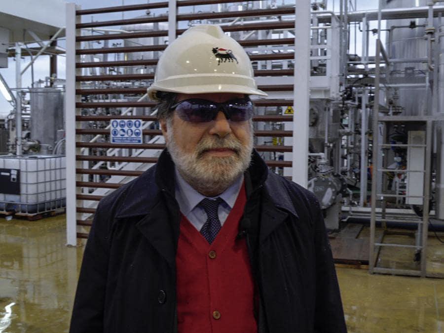 Vincenzo Larocca, amministratore delegato della Syndial (Eni)
