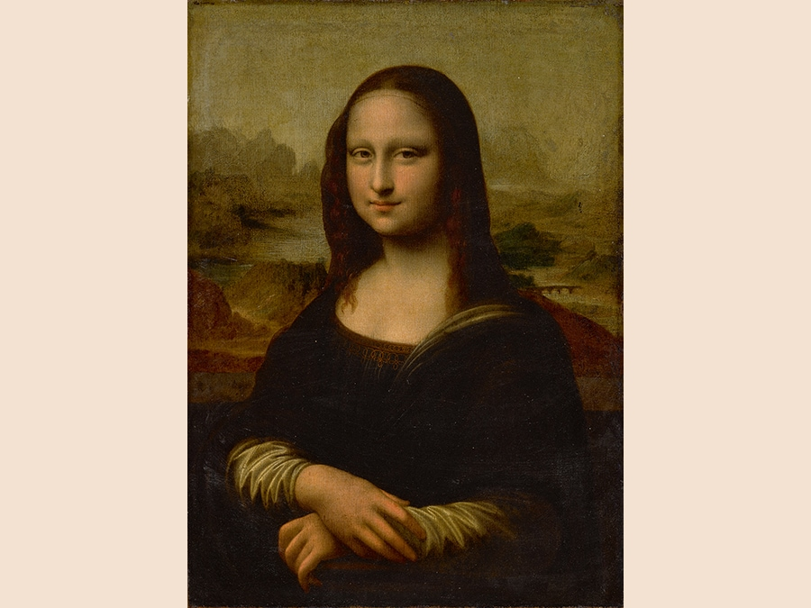 Property from a Private Collection. Follower of Leonardo da Vinci, 17th century. Mona Lisa, oil on canvas, unframed. 29 by 21 in.; 73.5 by 53.3 cm. Estimate $80/120,000. Sold for $1,695,000