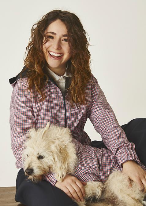 Susanna con Snoopy per Temellini