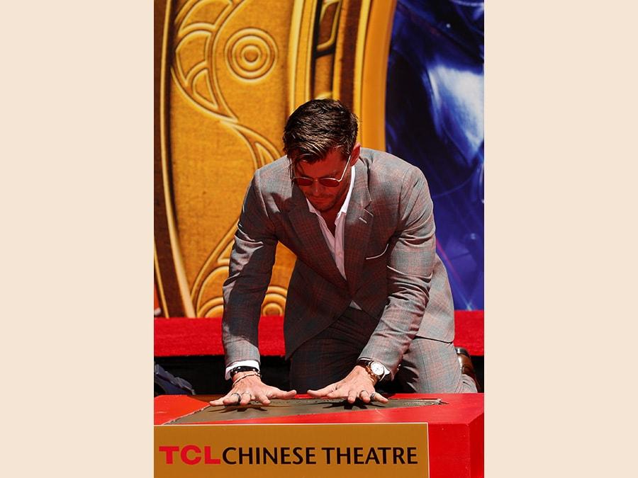 Chris Hemsworth. (Reuters/Mario Anzuoni)