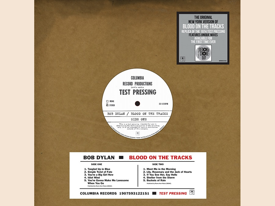 Bob Dylan - Blood on Tracks