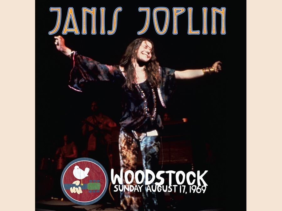 Janis Joplin - Woodstock, Sunday August 17, 1969