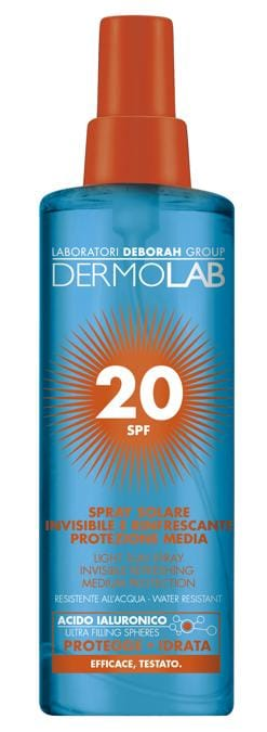 Dermolab Spray Acqua Solare SPF20 200ml