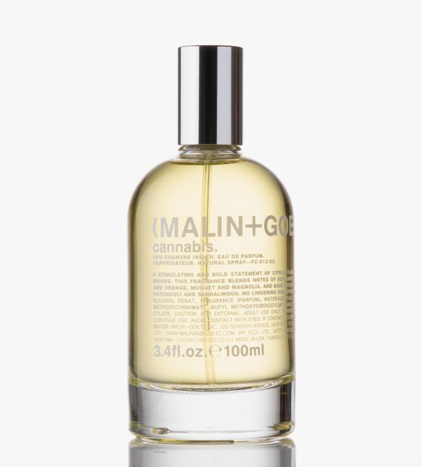 Malin più Goetz Cannabis Eau de Parfum, mescola la cannabis alle erbe speziate e note floreali per un aroma caldo e avvolgente.