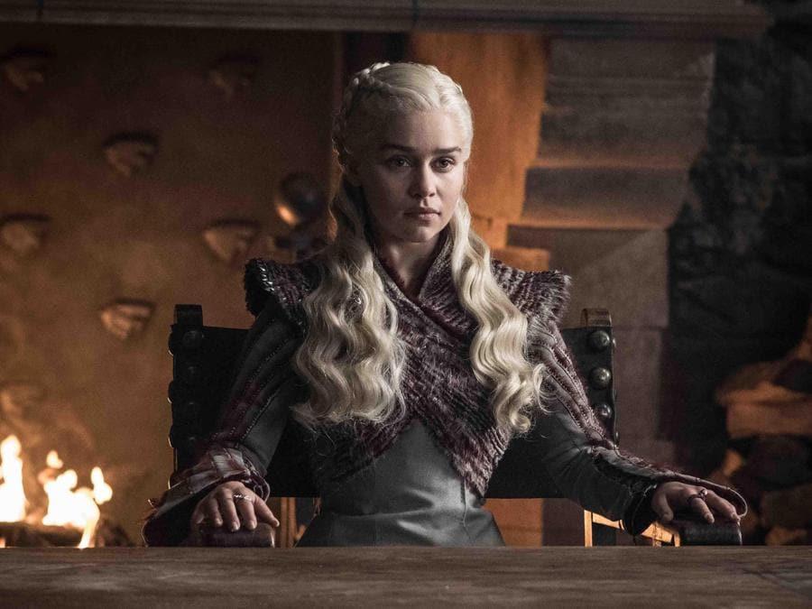 La regina dei draghi Daenerys Targaryen.(Ansa)