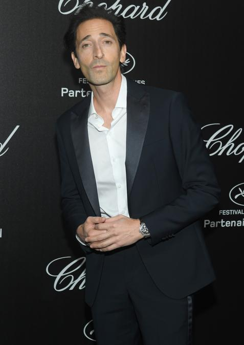 Adrien Brody in Giorgio Armani (Photo by Stephane Cardinale - Corbis/Corbis via Getty Images)